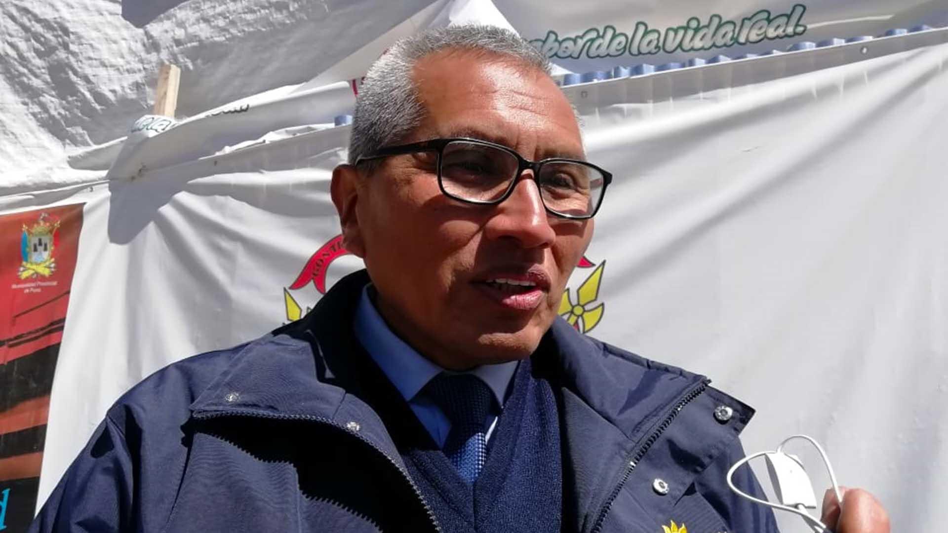Director del Senamhi Puno, Sixto Flores Senamhi