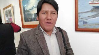 German Alejo consejero de Huancané