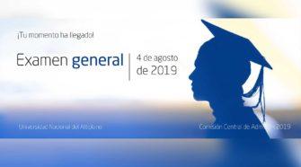 Examen General de Admisión UNA-Puno 04 de agosto