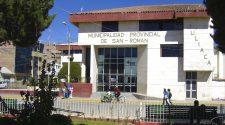 Municipalidad Provincial de San Román.