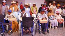 Personas con discapacidad se empadronaron -Puno