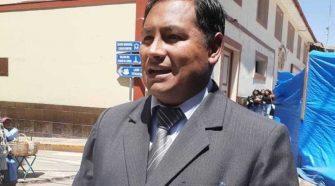 Presidente del Consejo Regional de Puno, Jorge Zúñiga Pineda