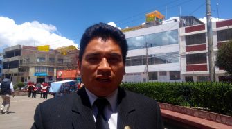 Decano del Colegio de Contadores de Puno, Omar Quispe Choque