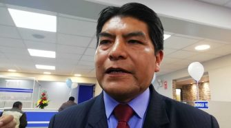 Martin Ticona Maquera Alcalde de Puno