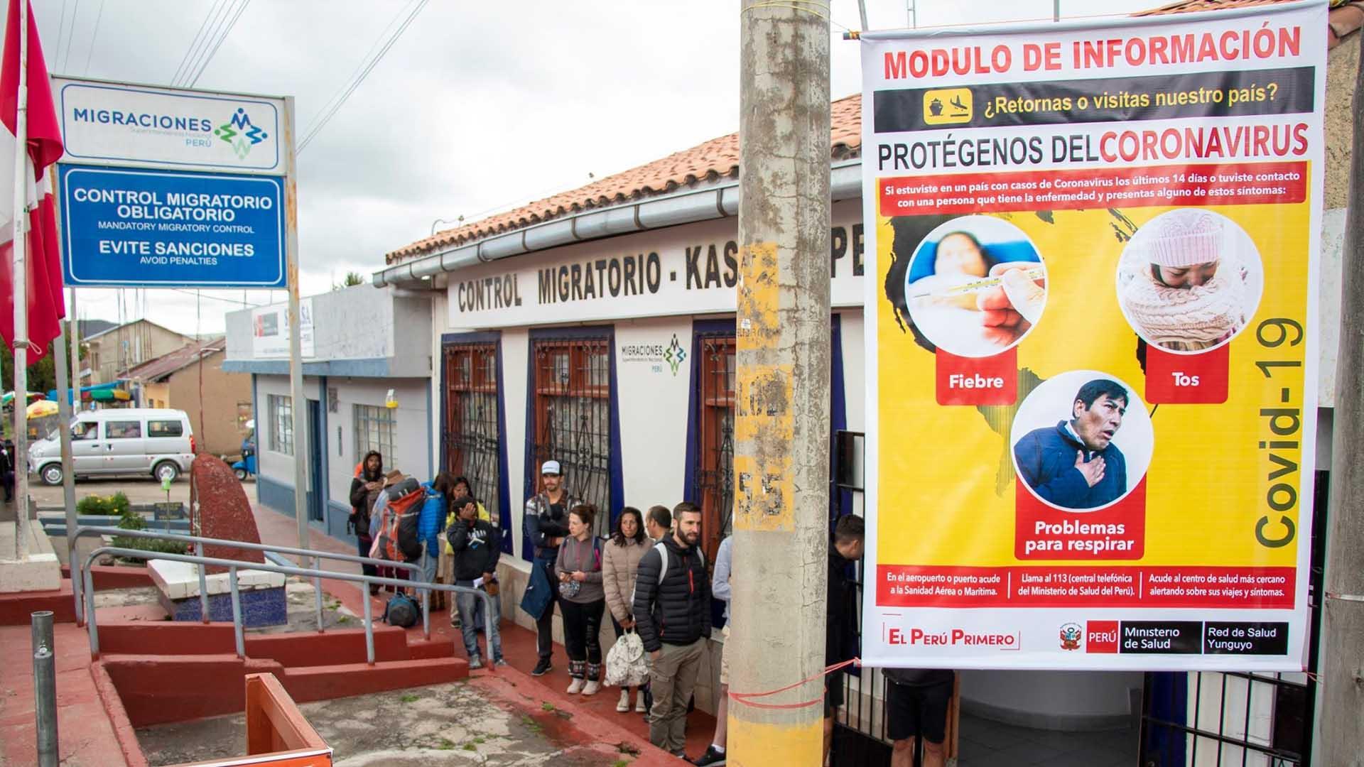 Autoridades de Yunguyo acuerdan reforzar el control en los hitos de frontera con Bolivia