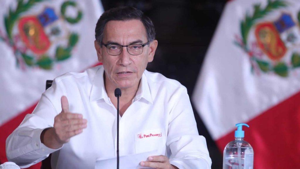 Sancionar de forma ejemplar la corrupción,fue el pedido del presidente Vizcarra al nuevo ministro del Interior