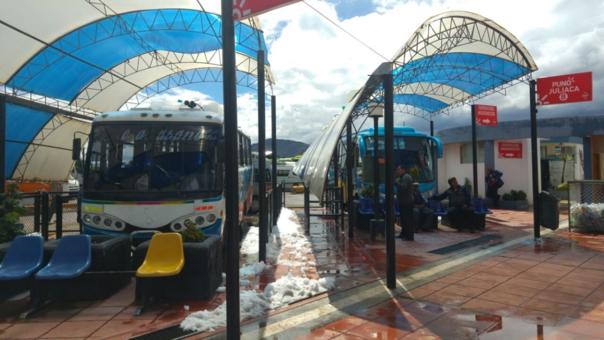 Servicio de transporte interurbano nuevamente podría reanudarse en los próximos días en Puno