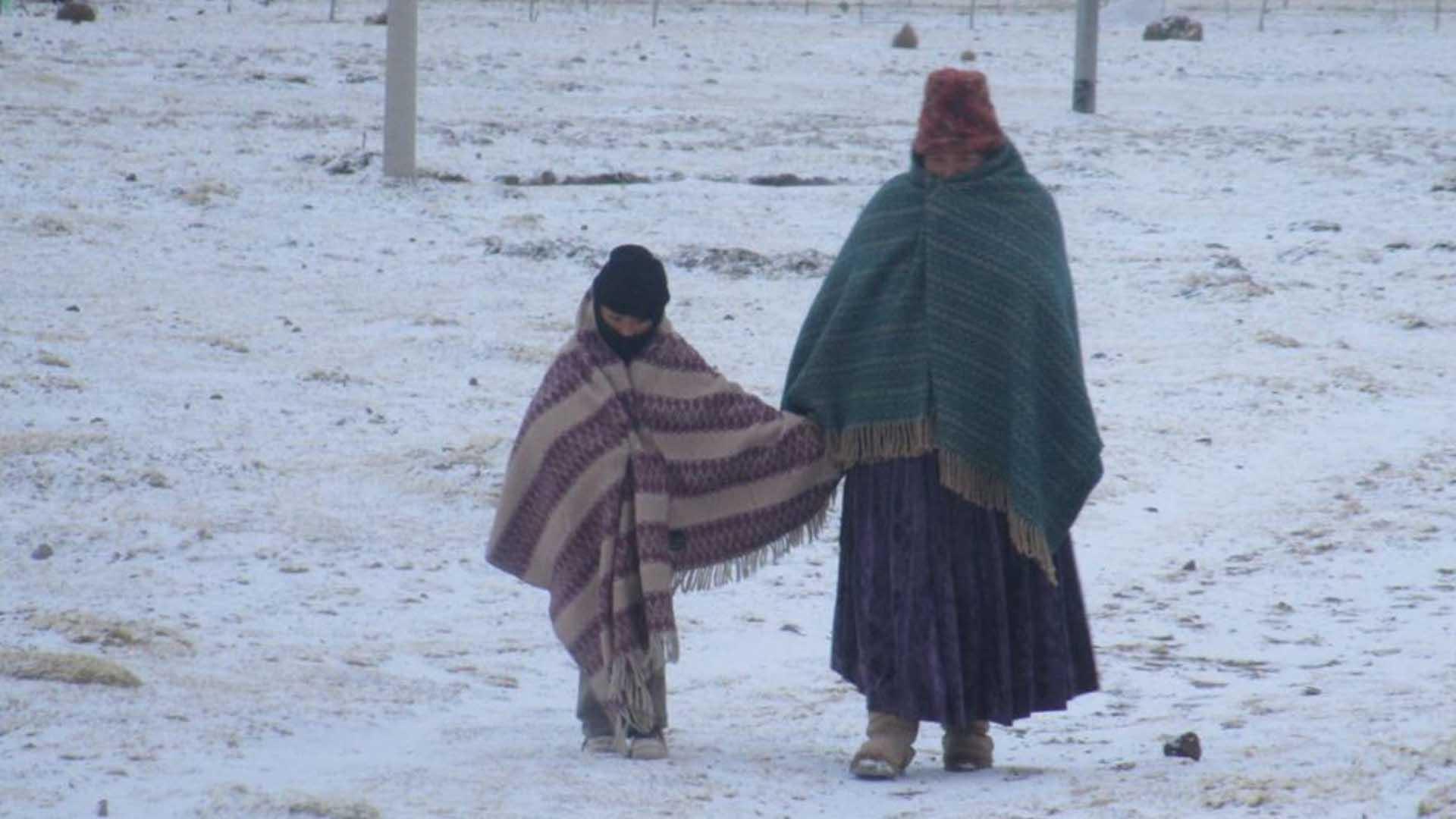 Bajas temperaturas en la región de Puno