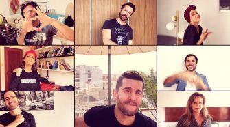 Artistas se unen en video e interpretan Canta Fuerte