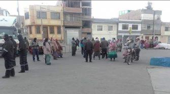 Señalan que las autoridades de Ilave no han cumplido con el reordenamiento de los comerciantes