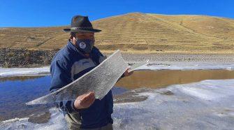 Bajas temperaturas en Puno