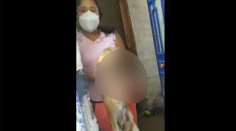 Detienen a mujer en Ayacucho por golpear con un ladrillo a perrita