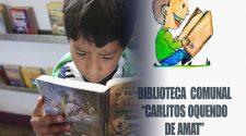 Biblioteca Comunal Carlitos Oquendo de Amat-Puno