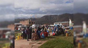 Feria en Pomata