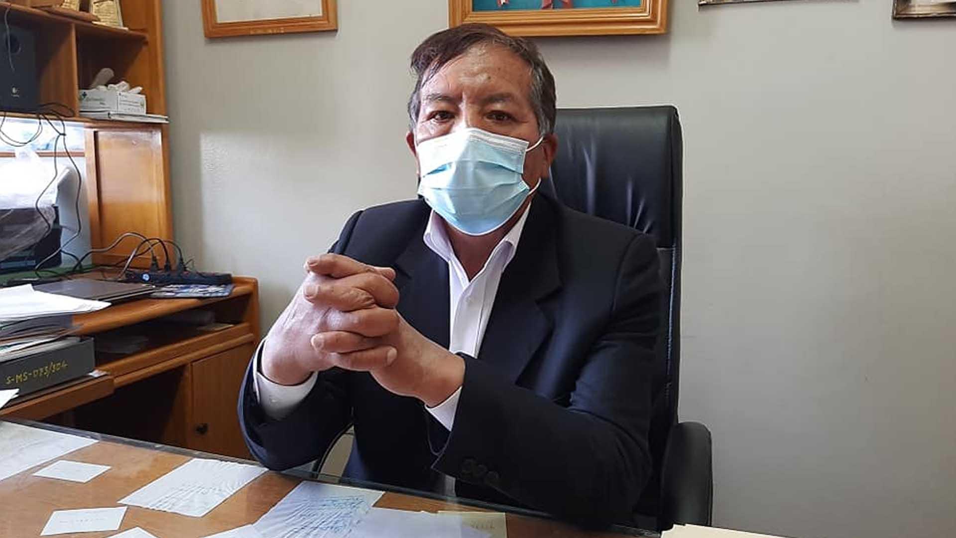 Eduardo Laura Mamani director del MNB