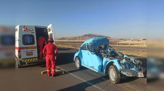 Accidente de tránsito Puno-Juliaca