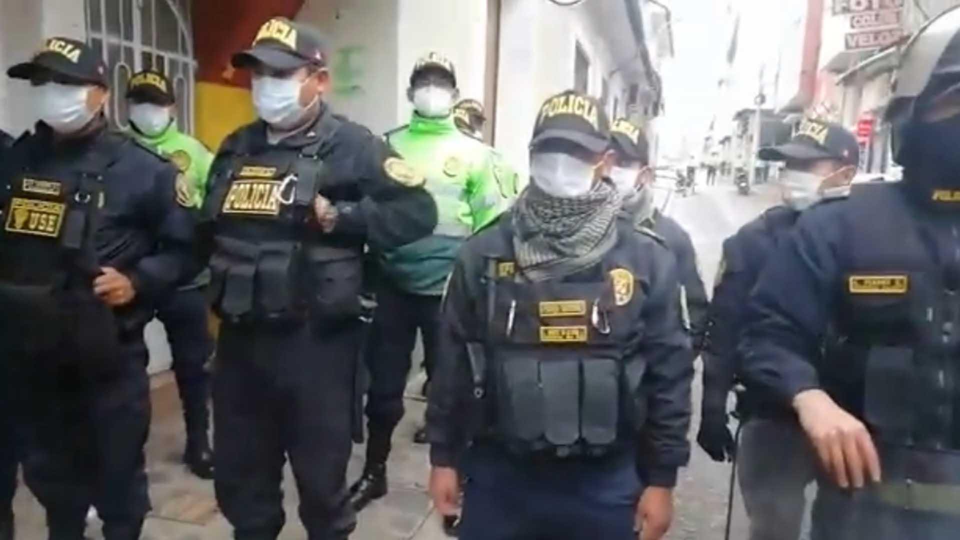 Policía Gobierno Regional