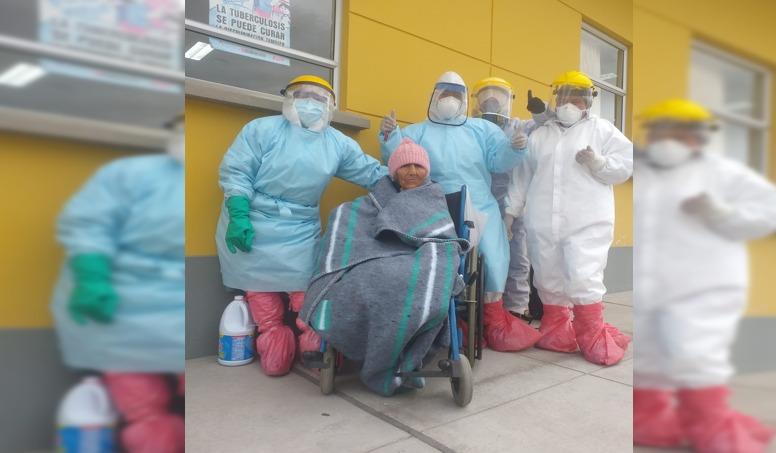 Mujer de 96 años se recuperó de la COVID -19 en Macusani, a más de 4 mil msnm