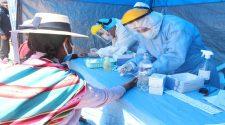 Prubas rápidas aplicadas en Puno