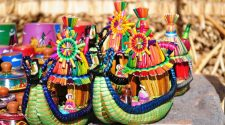 Artesanos de la región Puno.