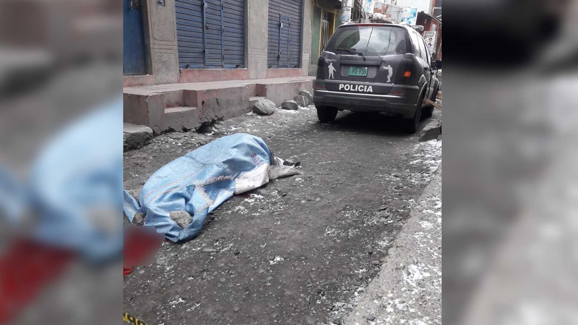 Rinconada: delincuentes hieren de bala a minero.