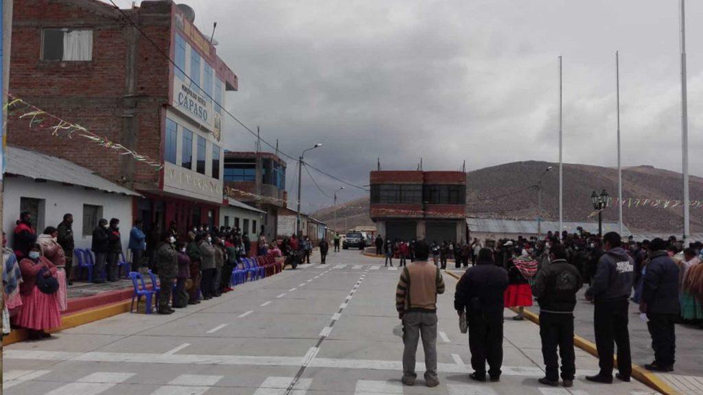 Trasvase de Agua a Tacna