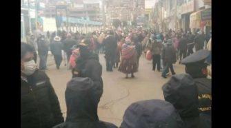 Comerciantes fueran desalojados de la avenida Simón Bolívar
