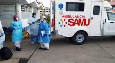 Ambulancias adquiridas para el SAMU
