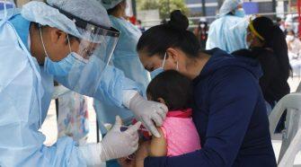 Deficiencias en jornada nacional de vacunación en Puno.