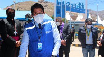 Gerente de la Red Asistencial de EsSalud Puno, Juan Carlos Mendoza