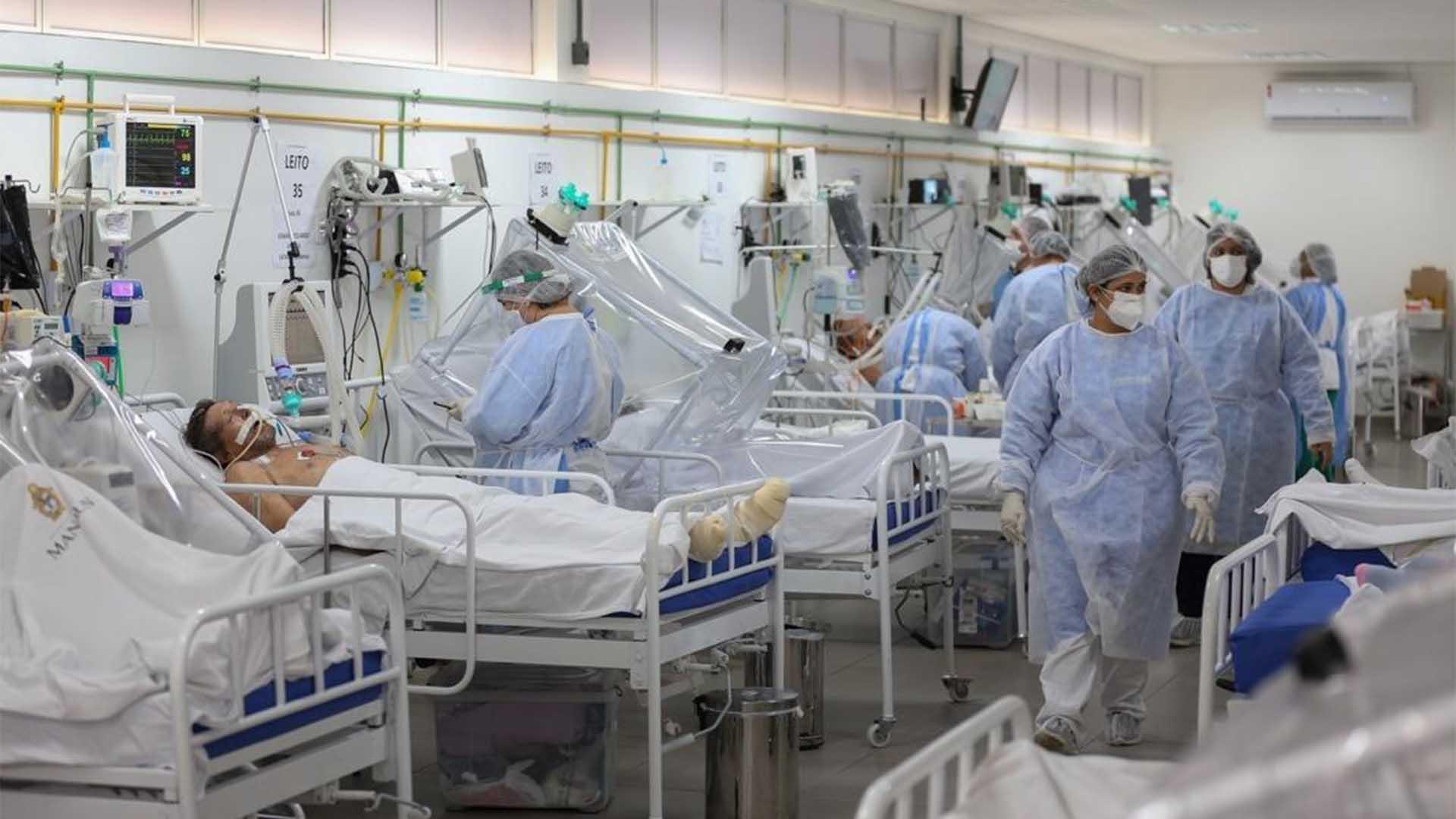 Pacientes que se contagiaron de la COVID-19.