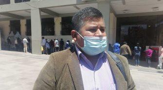 Presidente del Frente de Organizaciones Populares de Puno Amador Núñez Mamani