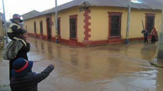 Lluvias en Puno