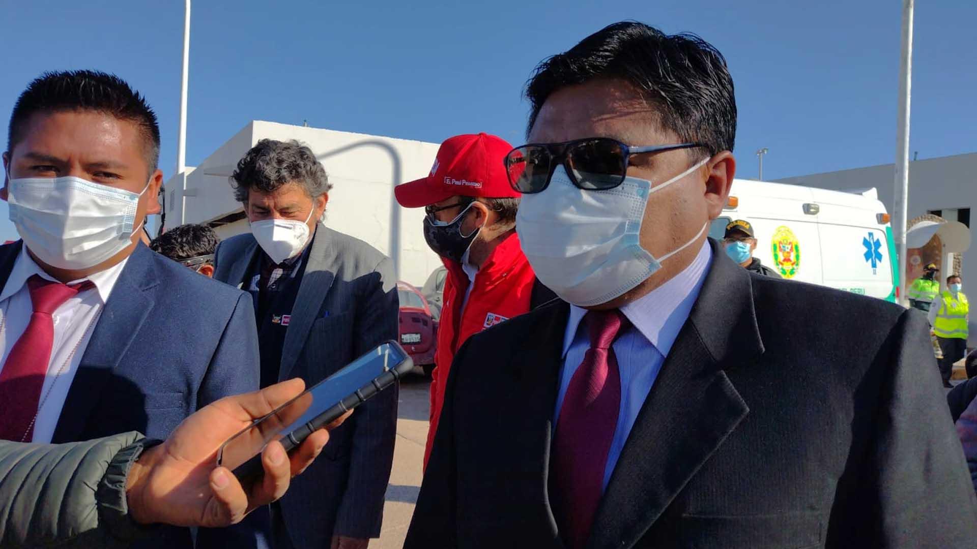 Gobernador regional de Puno, Agustín Luque Chaiña