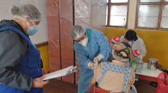 Vacunación en centros de salud rurales