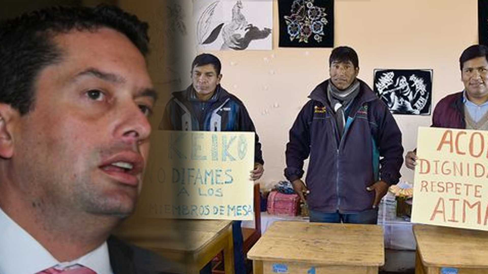 Fuerza Popular pide disculpas a tres miembros de mesa de Puno