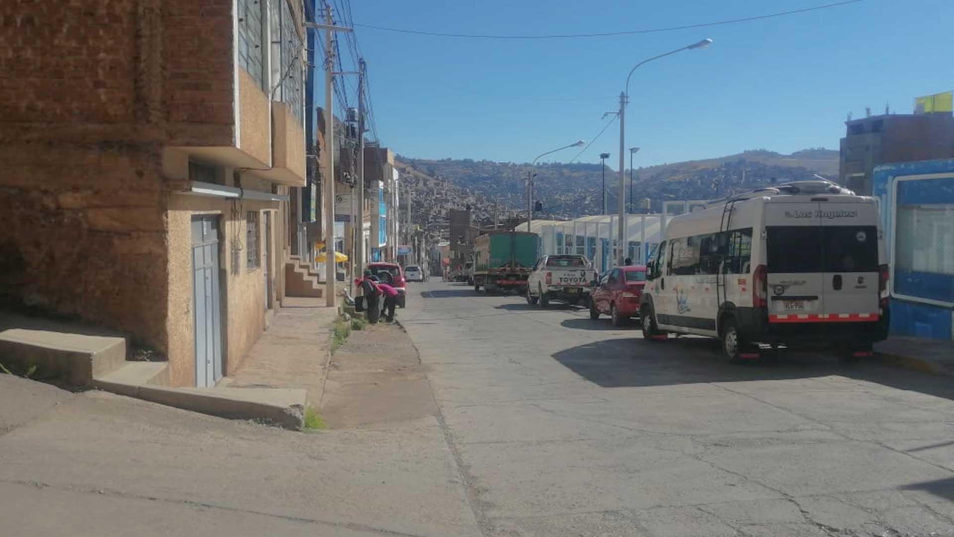 Barrio San Anotonio ciudad de Puno
