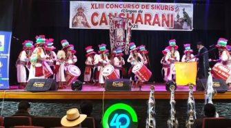 Concurso de sikuris Cancharani 2021-Puno