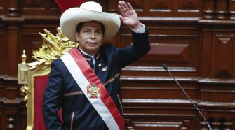 Presidente de la República Pedro Castillo