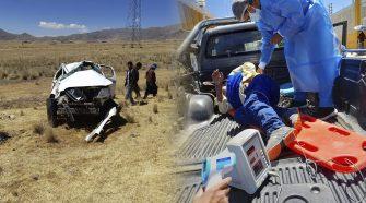 Accidente de tránsito en la vía Juliaca – Azángaro