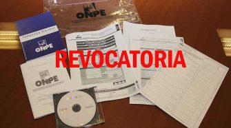 Consulta popular de revocatoria de autoridades municipales y regionales 2021
