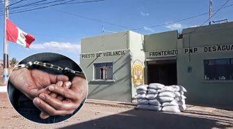 Detienen a personas de nacionalidad extranjera en Desaguadero