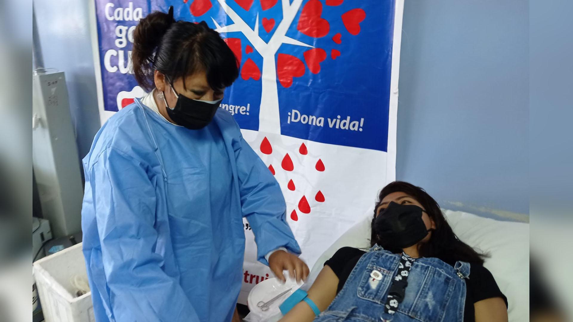 Donación de sangre -Puno