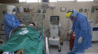 Pacientes graves con la Covid-19