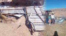 Pobladores afectados por el remolino de viento -Nicasio