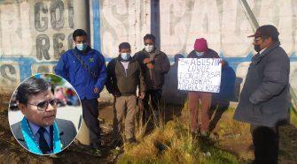 Se encadenaron en vivienda de gobernador regional Puno