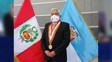 Vicerrector académico de la UNA- Puno, Mario Serafín