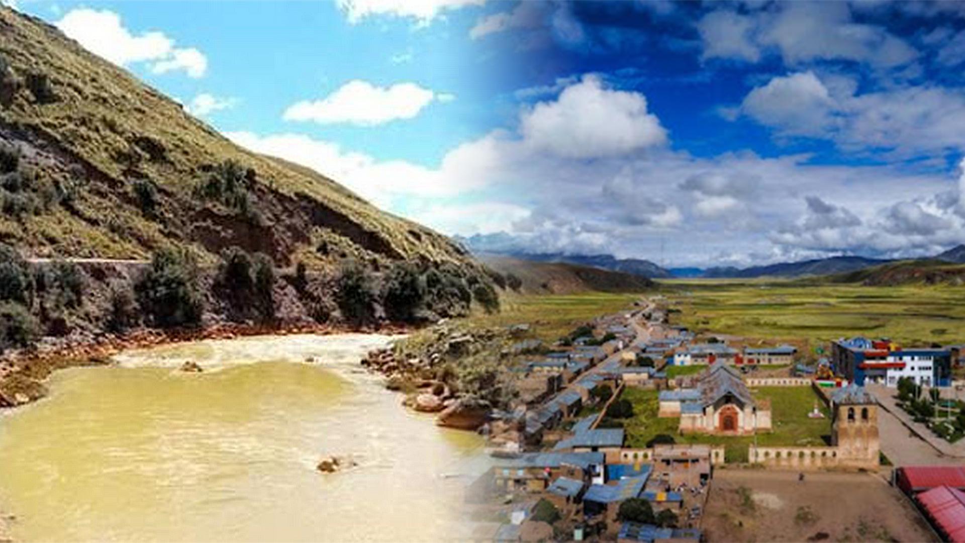 5 distritos de la región Puno son declarados en estado de emergencia por peligro inminente ante contaminación hídrica