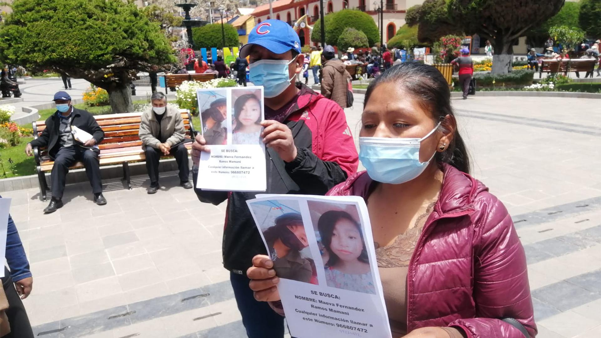 Menor de 13 años desaparecida el pasado 8 de octubre -Puno