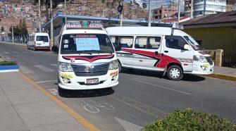 Paro en la ciudad de Puno